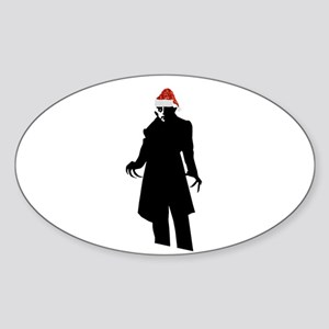 santa nosferatu Sticker