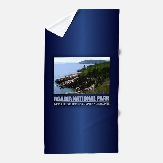 Acadia 3 Beach Towel