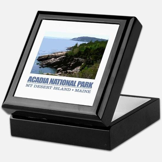 Acadia 3 Keepsake Box