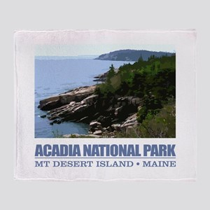 Acadia 3 Throw Blanket