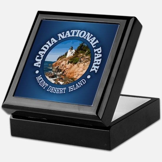 Acadia NP Keepsake Box