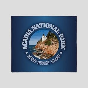 Acadia NP Throw Blanket