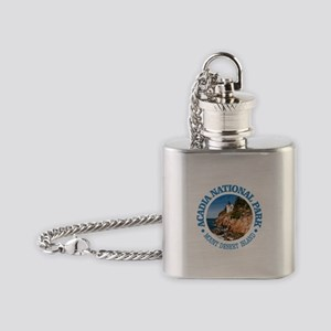 Acadia NP Flask Necklace