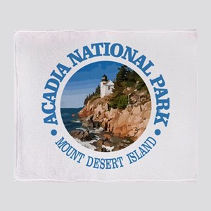 Acadia NP Throw Blanket