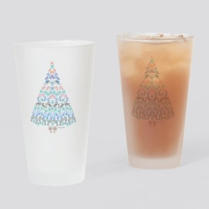 Marine Christmas Tree Drinking Glass