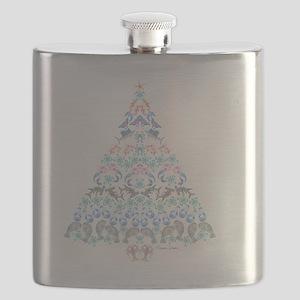 Marine Christmas Tree Flask