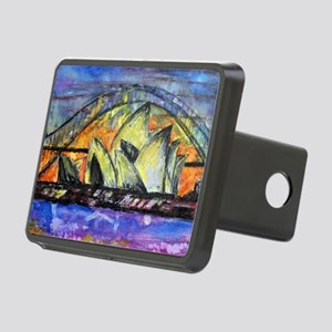 Hot Sydney Night Rectangular Hitch Cover