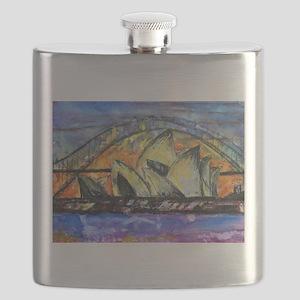 Hot Sydney Night Flask
