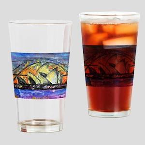 Hot Sydney Night Drinking Glass