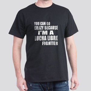I Am Lucha Libre Fighter Dark T-Shirt