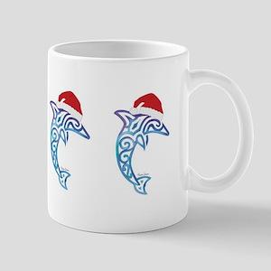 Santa Dolphin Mugs