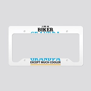 Biker Grandpa... License Plate Holder