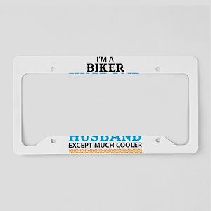 Biker Husband... License Plate Holder