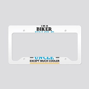 Biker Uncle... License Plate Holder