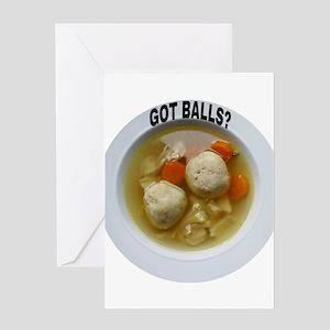 GOT BALLS? Greeting Cards