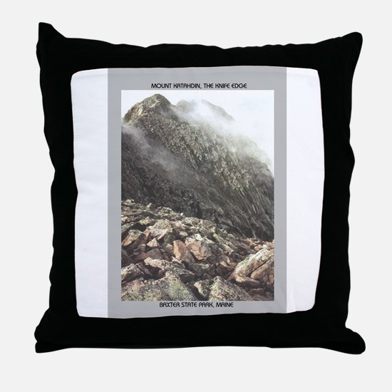 Katahdin Throw Pillow
