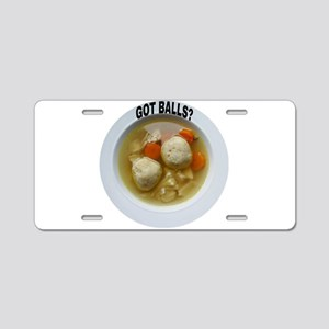 GOT BALLS? Aluminum License Plate