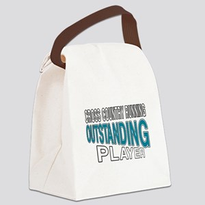 Cross Country Running Outstanding Canvas Lunch Bag