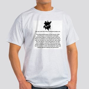 Can You Read This? Ash Grey T-Shirt