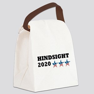 Anti-Trump Hindsight 2020 Canvas Lunch Bag