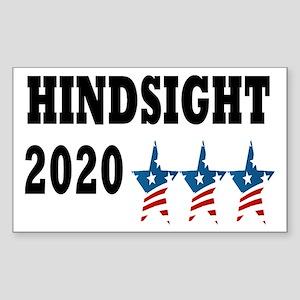 Anti-Trump Hindsight 2020 Sticker (Rectangle)