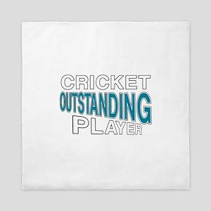 Cricket Outstanding Player Queen Duvet