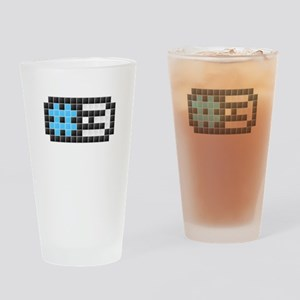 #3 (Pixel Art) Drinking Glass