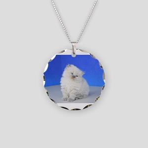 Cleopatra - Blue Point Ragamuffin Kitten Necklace