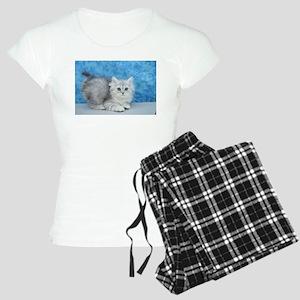 Ella - Silver Tabby Ragamuffin Kitten Pajamas