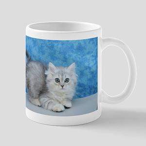 Ella - Silver Tabby Ragamuffin Kitten Mugs