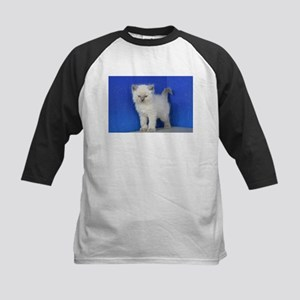 Fonzie - Blue Point Ragdoll Kitten Baseball Jersey