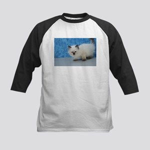 Holly - Seal Point Ragdoll Kitten Baseball Jersey