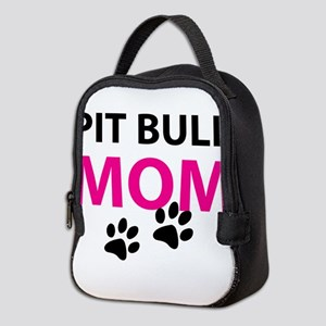 Pit Bull Mom Neoprene Lunch Bag