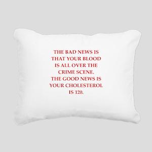 good news Rectangular Canvas Pillow