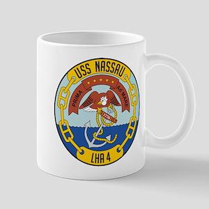 USS Nassau LHA-4 Mugs