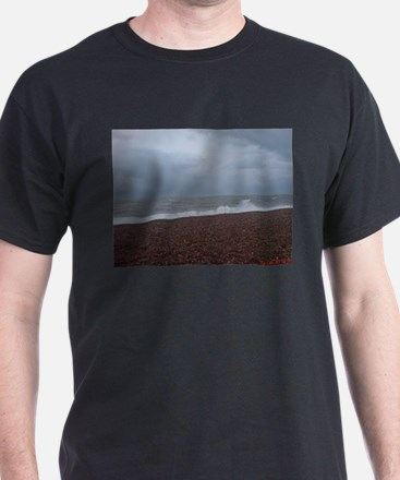 The Sea in Hastings, East Sus T-Shirt