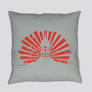 Futurama Bender Rays Everyday Pillow