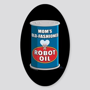 Futurama Robot Oil Sticker (Oval)