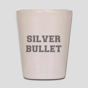 SILVER BULLET Shot Glass