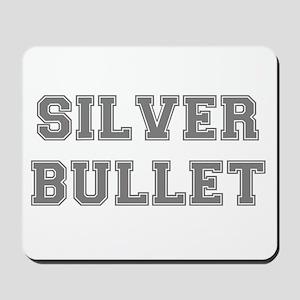SILVER BULLET Mousepad