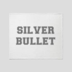 SILVER BULLET Throw Blanket