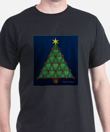 Advent Sum Christmas Tree T-Shirt