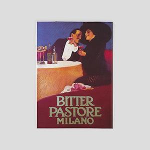 Bitter Pastore, Milano, Vintage 5'x7'area