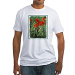 Indian Paintbrush Fitted T-Shirt