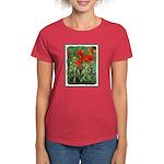 Indian Paintbrush Women's Dark T-Shirt