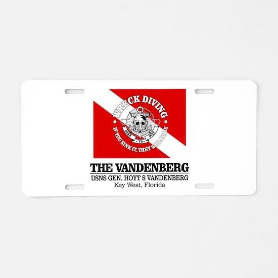 Vandenberg Aluminum License Plate