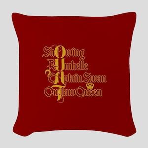 OUAT Power Couples Woven Throw Pillow