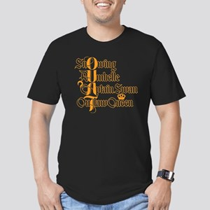 OUAT Power Couples Men's Fitted T-Shirt (dark)