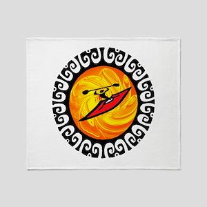 KAYAK Throw Blanket