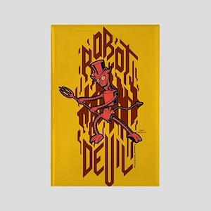 Futurama Robot Devil Rectangle Magnet